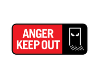 anger keep out