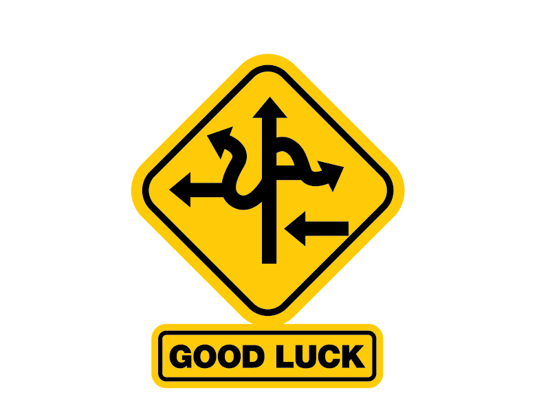 Good Luck Funny Funny Good Luck Signs