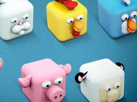 Archigraphs Cubed Animals Icons