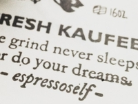 Kaufee Manifesto - Stamped Version