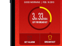 Breakfast Alarm App