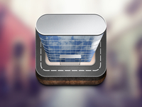 iOS App Icon of Administrative Building