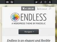 Endless Header Mobile