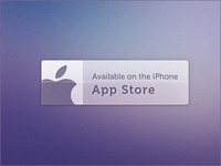 App Store Button (PSD)