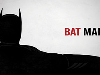 Batman + Mad Men = Poster