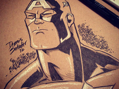 Salvatier_dribbble_captain-america