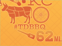 2013 Tour de BBQ Illustrations
