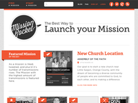 Mission Rocket Home Page