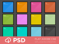 FLAT CS6 Splash Screens