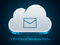 CLOUDIE Massive Icon Set (336 icons)