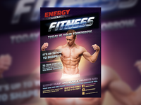 TOMORROW Fitness Flyer Template