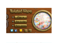 Twisted Ways (main screen)