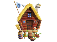 Witch (Baba Yaga) house for Happy Builder 2