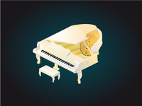 Piano for game
