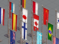 Flags fo game