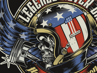 Legends Never Die - Harley-Davidson Design