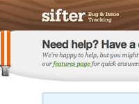 Sifter Marketing Site Reloaded