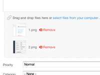 Drag & Drop File Uploading