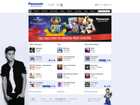 Panasonic Music Homepage