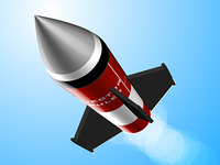 Rocket Icon Vector Tutorial
