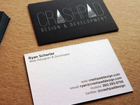 "New ""Lux"" Business Cards"