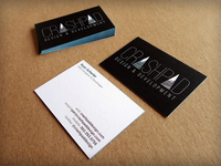 """Lux"" Business Cards"
