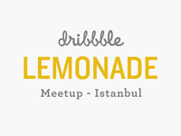 Dribbble Lemonade Meetup