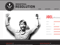 Industrial Resolution Website