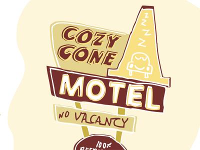Cozy Cone Illo