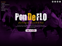 Pon De FLO Website