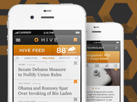 Hive News Application