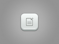 File Plus Ios  Icon