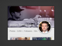 Instagram Widget [PSD]
