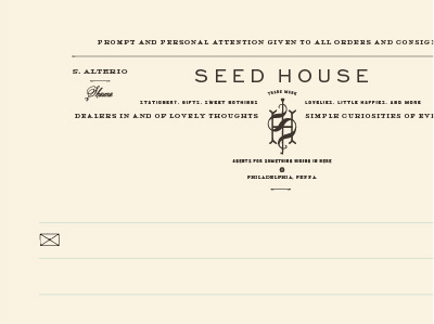 Seedstationery