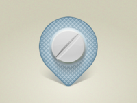 Pharmacies & Drugs. Mobile App Icon