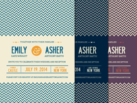 Chevron Wedding Pack