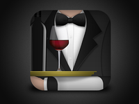 iOS wine app icon