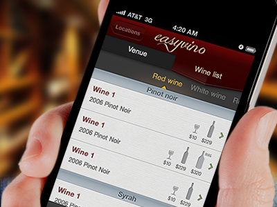 Easyvino_wine_list