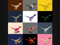 VLT - personalised dinos part 2