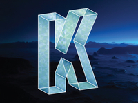 Type Fight Letter K