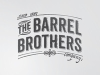 The Barrel Brothers logo first proposal