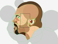 Chuck Liddell Illustration