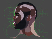 Mr T Illustration