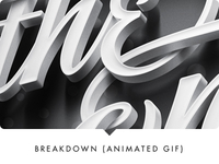 Promo for Sudtipos' font release: breakdown