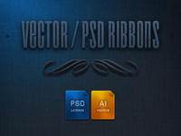 17 Psd Ribbons