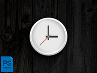 Psd Analog Clock