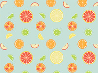 Fruit Salad Pattern WIP
