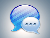 Messages Icon PSD