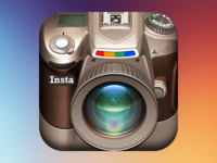 Instagram DSLR iOS Icon