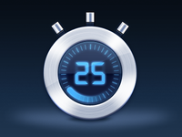 Sublimevideo Timer Icon